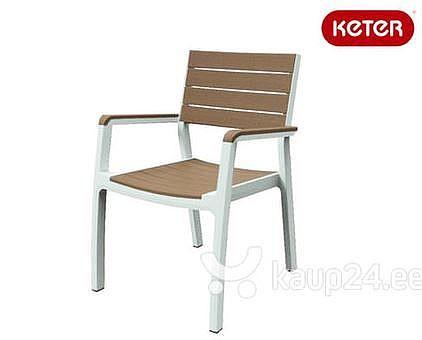 מעולה  6 כיסאות כתר דגם הרמוני עם ידיות | כסאות פלסטיק | ריהוט גינה BM-44