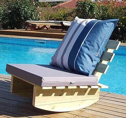 משהו רציני נדנדת כיסא זולה יחיד | פינות ישיבה מעץ/ במבוק | ריהוט גינה | שיווק TP-17